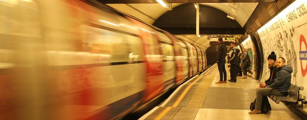 Wycieczka metrem po Londynie