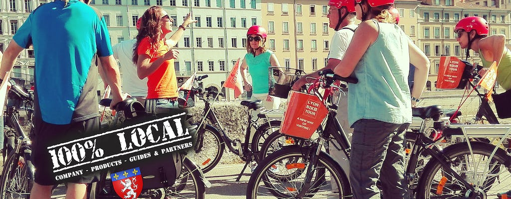 3-hour electric bike tour with food tasting in Lyon