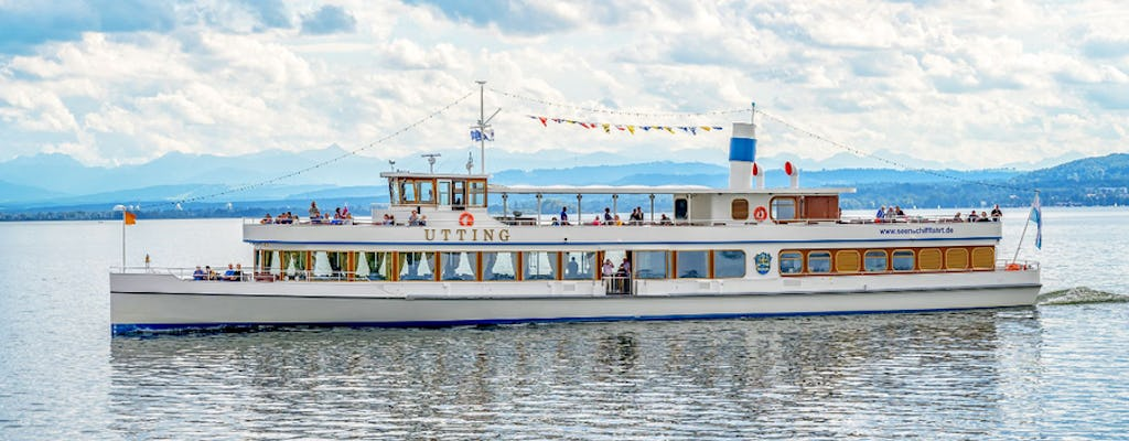 Boat trip and classical concert on the Ammersee with a 3-course menu