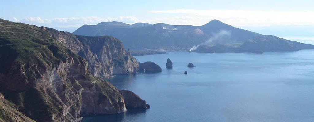 Lipari and Vulcano full-day tour from Cefalù