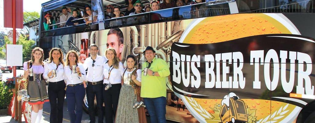 Tour della birra in autobus con degustazione