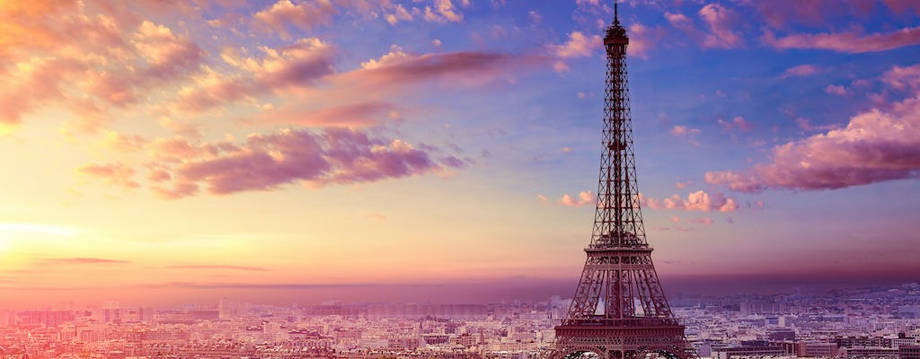 Sunset guided stroll of Paris' top landmarks