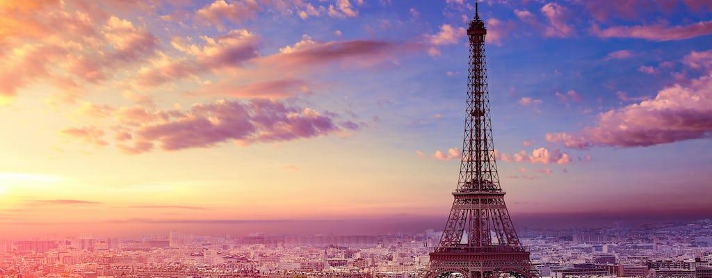 Geführter Rundgang bei Sonnenuntergang zu den Top Sehenswürdigkeiten von Paris
