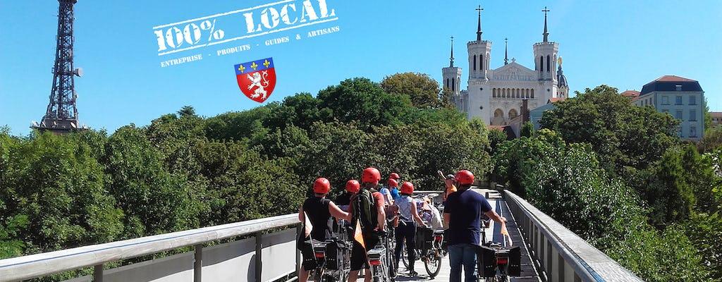 4-godzinna trasa rowerowa w Lyonie z degustacją potraw