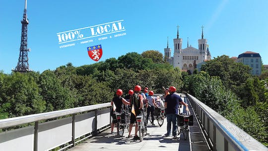 4-hour Electric bike tour in Lyon with food tasting
