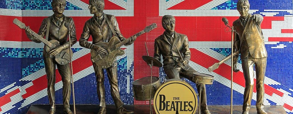 Dagtrip naar The Beatles Liverpool met eersteklas treinkaartjes