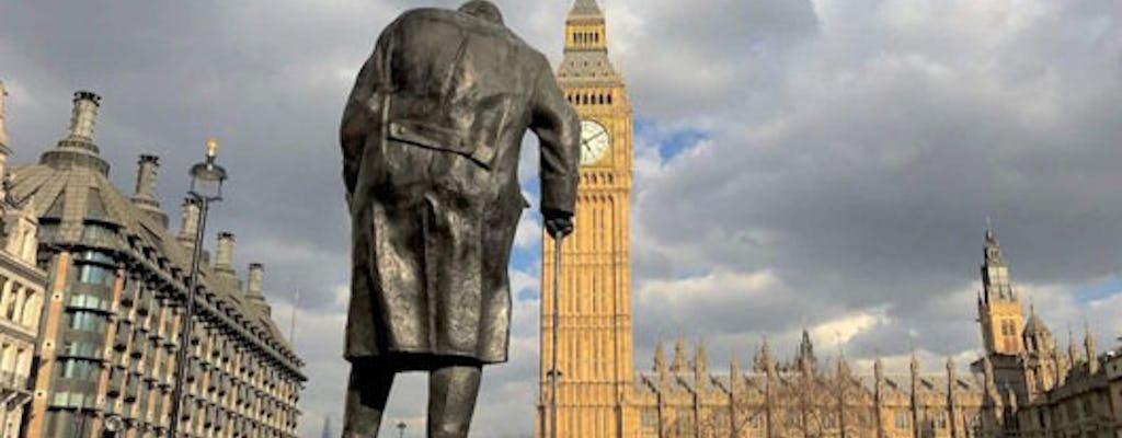 Winston Churchill tour of London