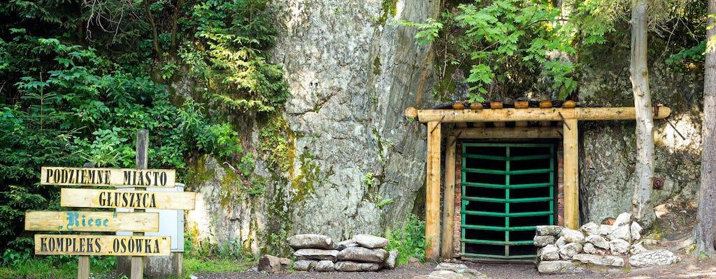 Excursión a la ciudad subterranea nazi y a los túneles de Osowka y Wlodarz