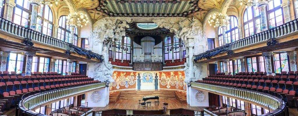 Visita guiada al Palau de la Música Catalana con recital de órgano en vivo