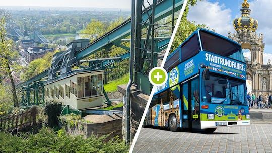 Обзорная экскурсия по Дрездену с горной железной дорогой и автобусом hop-on hop-off
