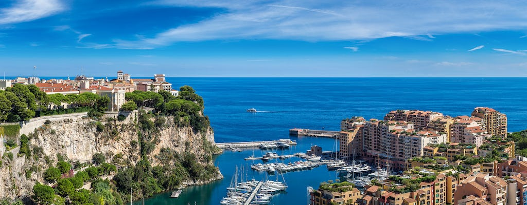 Seacoast view and Monte Carlo group tour from Nice