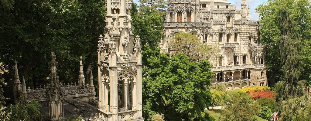Sintra, Regaleira and Pena Palace full-day tour from Lisbon