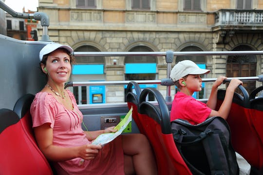 24-hour hop-on hop-off panoramic bus tour