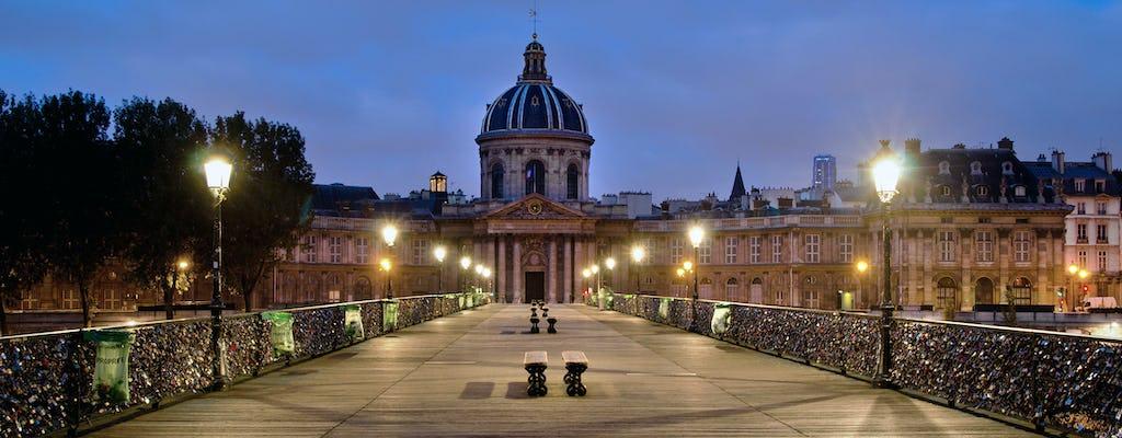 Tour invernale di Parigi di notte