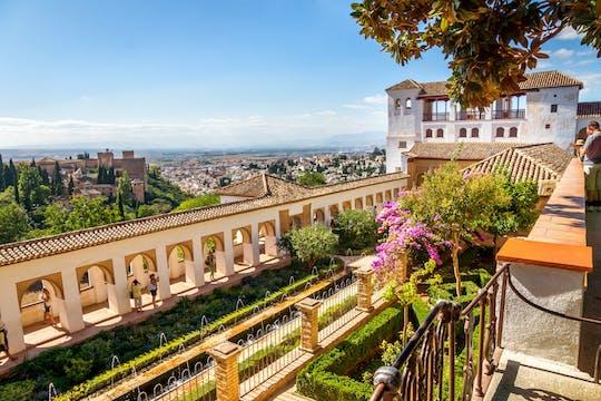 Entradas sin colas a la Alhambra y al Generalife y visita guiada a los Palacios Nazaríes