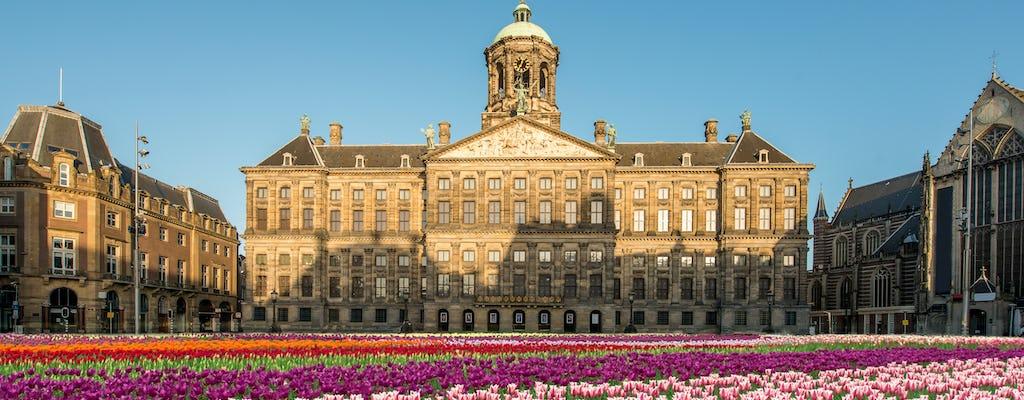 3-hour historic Amsterdam private bike tour