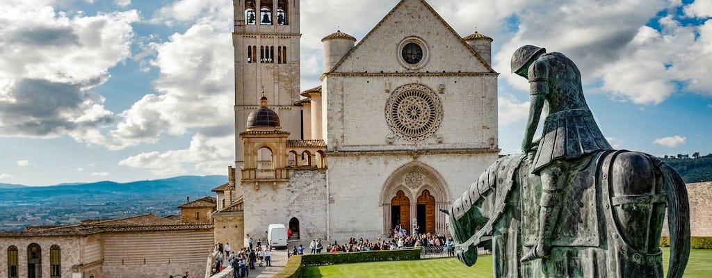 Gita di un giorno ad Assisi e Orvieto da Roma