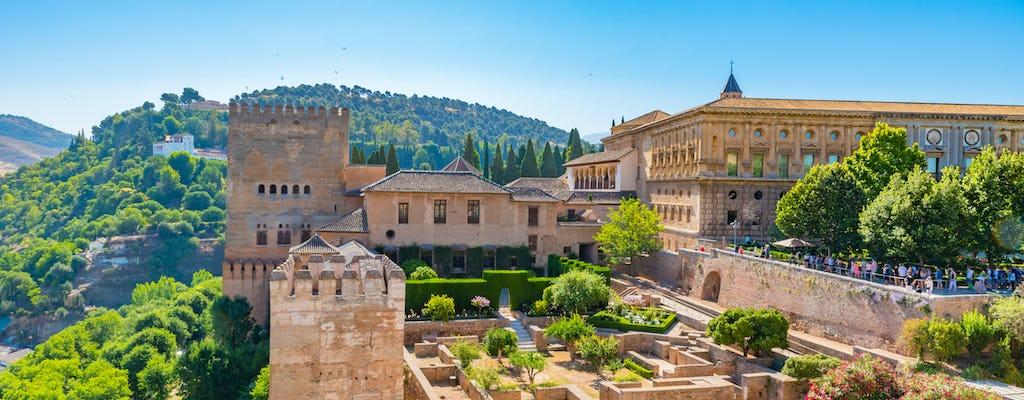 Без очереди билетов и экскурсии по Альгамбре и Хенералифе