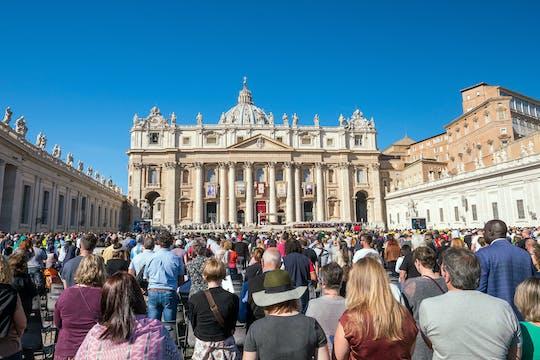 Audiência do Papa Francisco e excursão de ônibus em Roma com um guia local