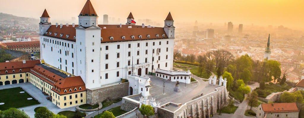 Bratislava city centre tour from Vienna