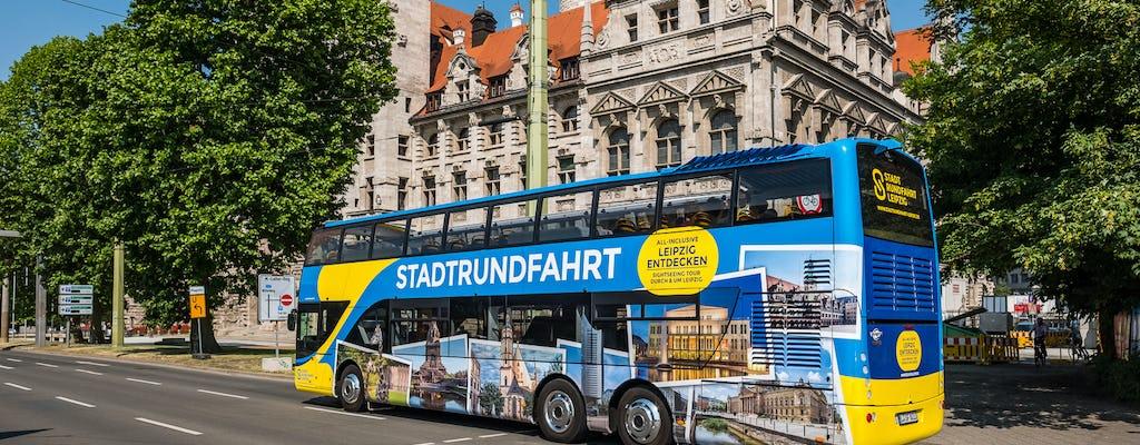 Wielkie zwiedzanie miasta w Lipsku autobusem typu hop-on hop-off