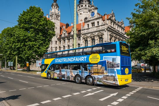 Big city tour in Leipzig with the hop-on hop-off bus