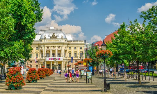 Wandeltocht door Bratislava