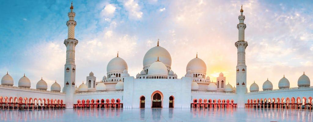 Tour di mezza giornata della Moschea Sheikh Zayed di Abu Dhabi da Dubai con sessione fotografica