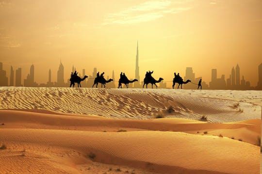 Tour di un'intera giornata a Dubai per piccoli gruppi e safari serale nel deserto