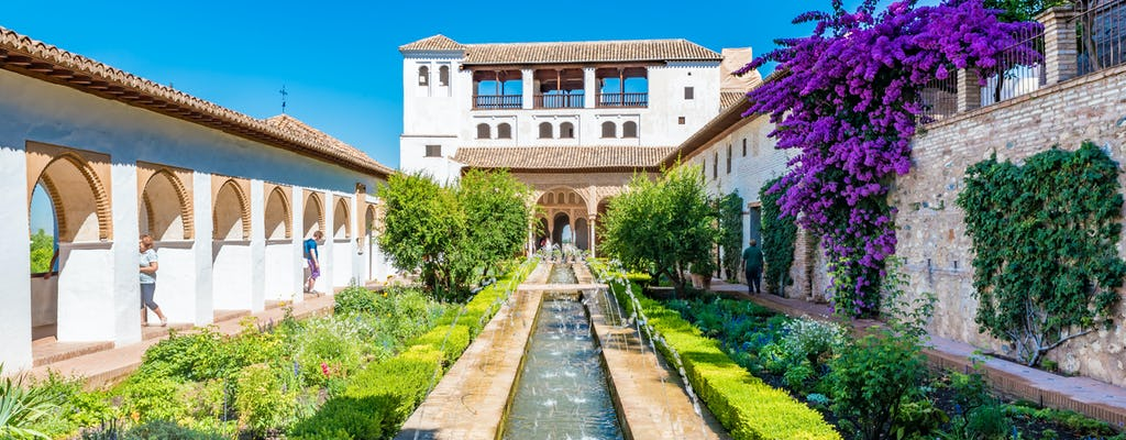 Guided tour of the Alhambra and the Generalife