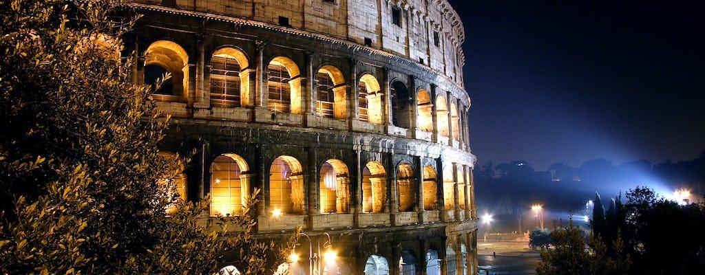 Rome by night bus tour