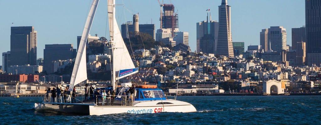 Crucero a vela en la bahía de San Francisco