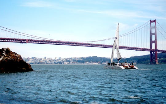 Happy Hour Sail op de San Francisco Bay