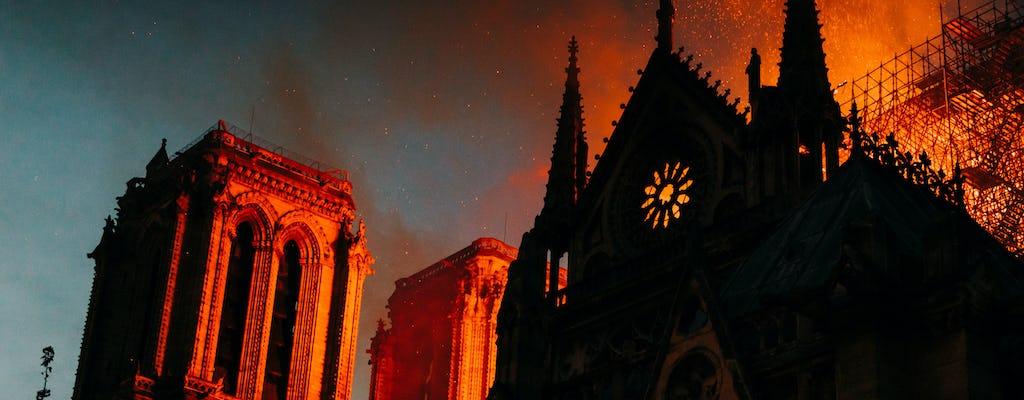 Tour privato di Notre-Dame - prima, durante e dopo l'incendio