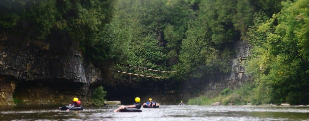 Passeio de 2 dias em tubo de águas brancas Elora Gorge
