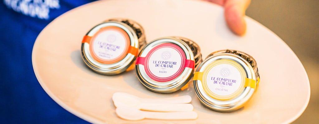 Excursão particular ao Caviar de Paris e Champagne