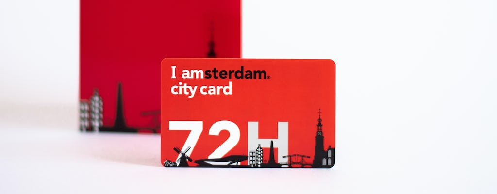 I amsterdam City Card para 24, 48, 72, 96 ou 120 horas