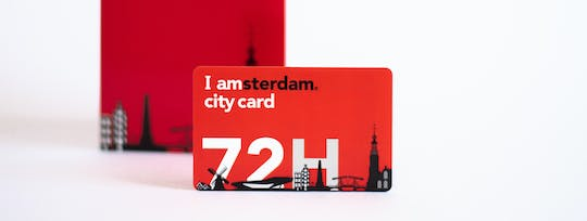 I Amsterdam City Card for 24, 48, 72, 96 or 120 hours