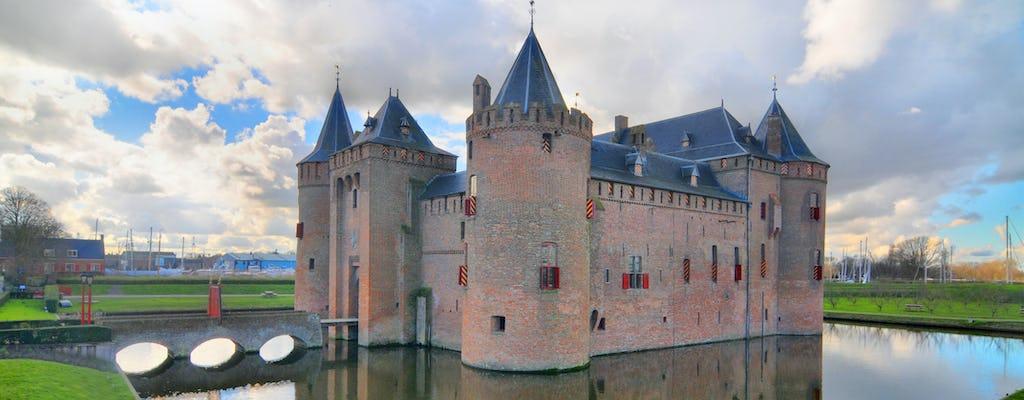 Visita turística de lujo de Muiderslot con transporte privado desde Ámsterdam