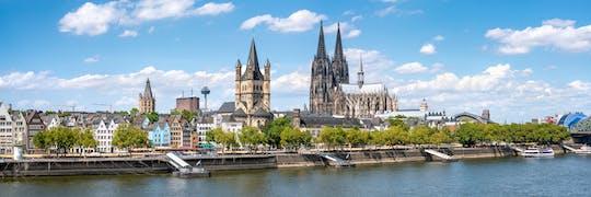 Visita turística de lujo por Colonia con transporte privado desde Ámsterdam