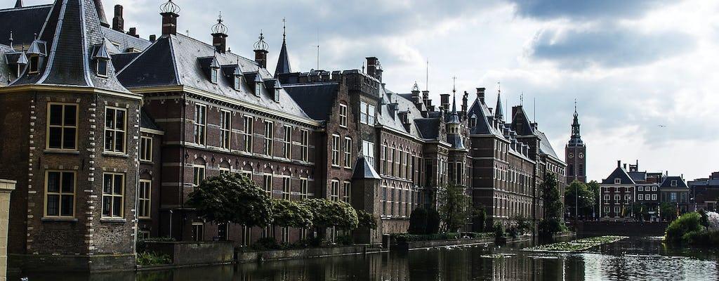 Passeio turístico de Haia e Delft com transporte privado