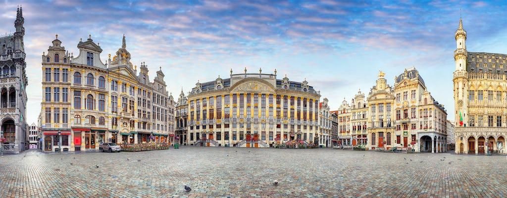 Visita turística de lujo de Bruselas con transporte privado desde Ámsterdam