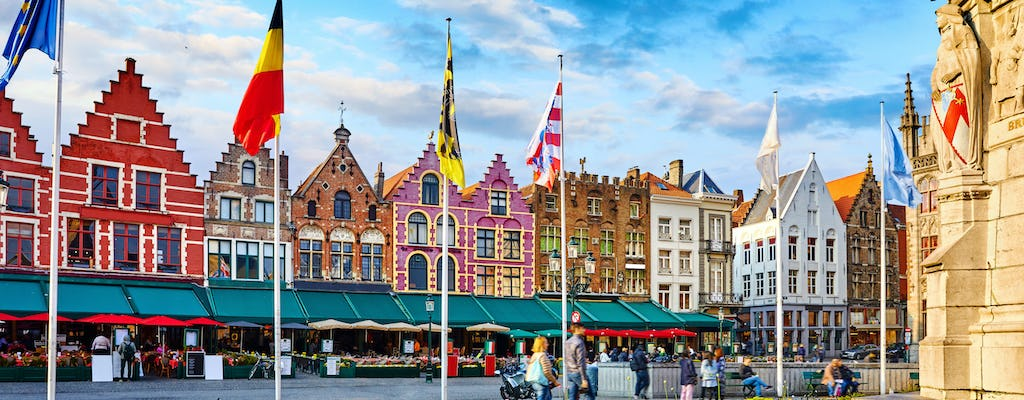 Luxury sightseeing tour of Bruges with private transportation from Amsterdam