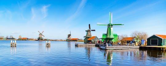 Besichtigungstour von Windmühlen, Käserei und Volendam mit privatem Transport
