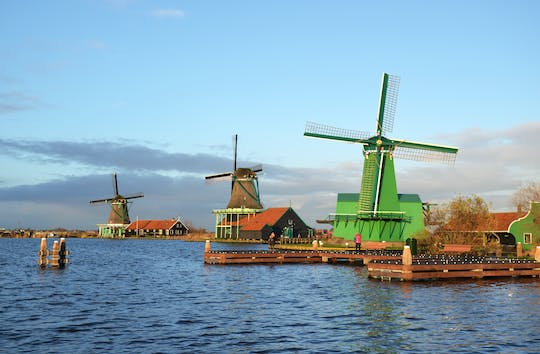 Half-day Zaanse Schans tour and canal cruise of Amsterdam