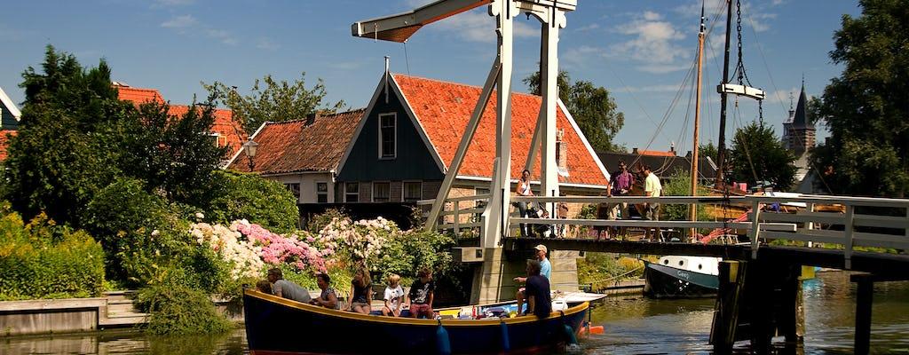 Волендам, Эдам и ветряки экскурсионный тур с круизом из каналов Амстердама