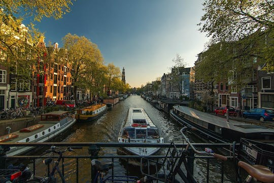 Luxury private Amsterdam city tour by car