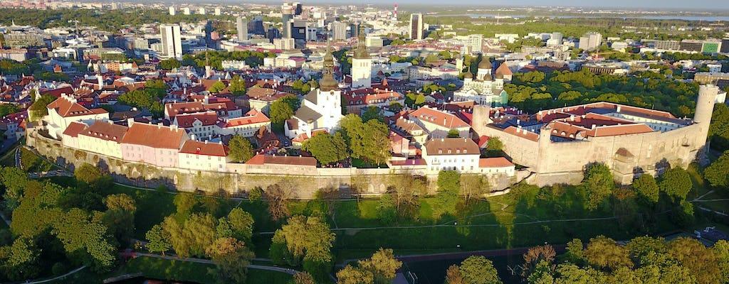 Visite privée à pied de la vieille ville de Tallinn