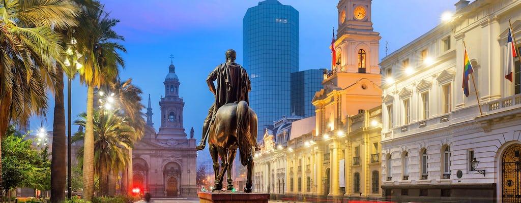 Kustexcursie Santiago en stadstour vanuit Valparaíso