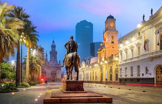Wycieczka na brzeg Santiago i zwiedzanie miasta z Valparaíso